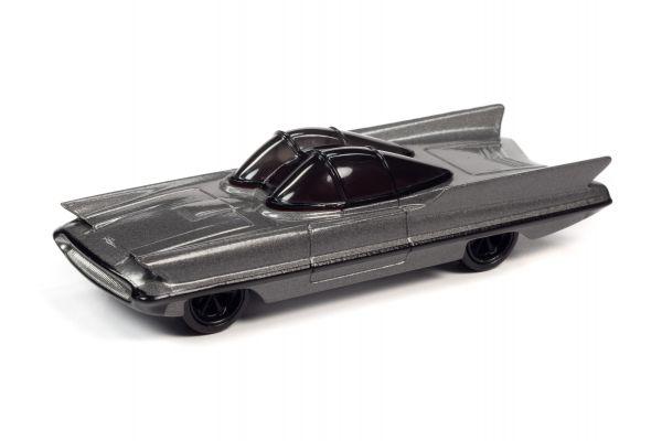 JOHNNY LIGHTNING 1/64scale 1955 Lincoln Futura Dark Silver  [No.JLSF017B4GR]