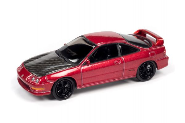 JOHNNY LIGHTNING 1/64scale 1997 Acura Integra Pearl Red (Import Heat)  [No.JLSF017B6R]
