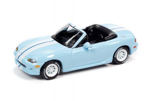 JOHNNY LIGHTNING 1/64scale 1999 Mazda Miata Light Blue  [No.JLSF018A6BL]