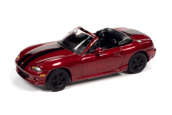 JOHNNY LIGHTNING 1/64scale 1999 Mazda Miata Red  [No.JLSF018B6R]