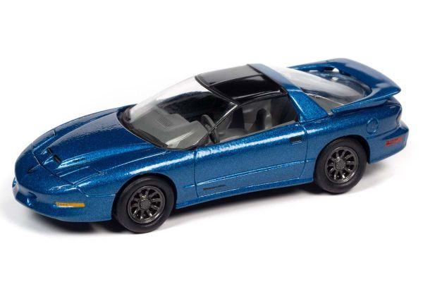 JOHNNY LIGHTNING 1/64scale 1996 Pontiac Firebird Trans Am Blue  [No.JLSP149A]