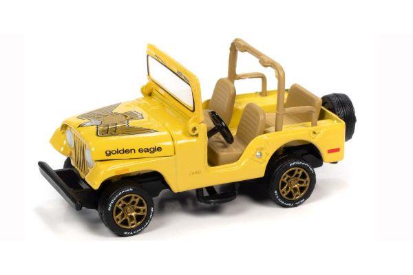 JOHNNY LIGHTNING 1/64scale Jeep CJ-5 Yellow / Eagle  [No.JLSP150B]