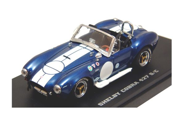 KYOSHO 1/43scale SHELBY COBRA 427 S/C RACING Blue [No.K03015BL]