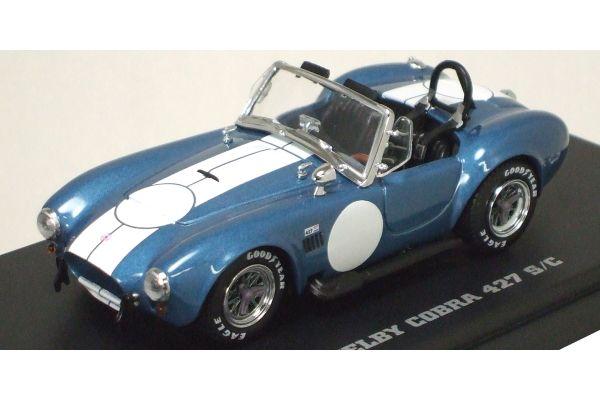 KYOSHO 1/43scale Shelby Cobra 427 S/C Light Blue [No.K03015GBL]