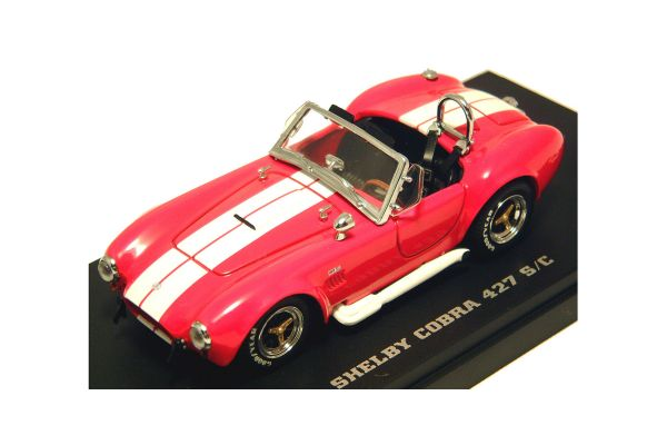 KYOSHO 1/43scale SHELBY COBRA 427 S/C RACING Red [No.K03015R]