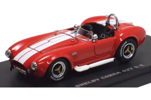 KYOSHO 1/43scale Shelby Cobra 427S/C Racing Screen Red/Whiteline [No.K03016RW]