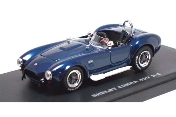 KYOSHO 1/43scale SHELBY COBRA 427 S/C RACING with RACING SCREEN Blue [No.K03016SB]