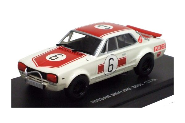 KYOSHO 1/43scale Nissan  Skyline 2000GT-R Racing No.6 (KPGC10)  [No.K03022R]