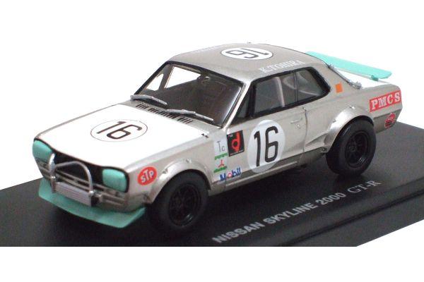 KYOSHO 1/43scale Nissan Skyline 2000 GT-R (KPGC10) 1972 Fuji Grand Champion (No.16)  [No.K03027G]