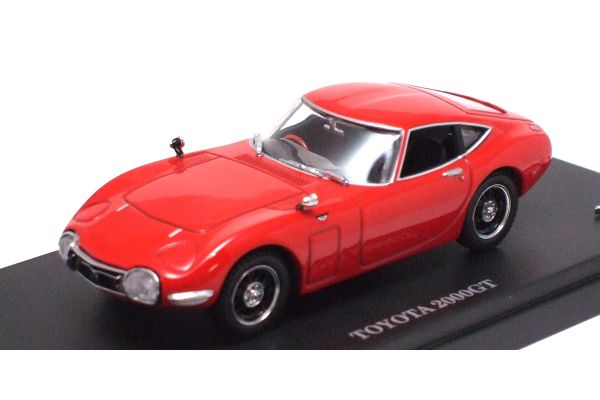 KYOSHO 1/43scale TOYOTA 2000GT Red [No.K03031R]