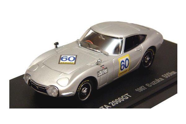 KYOSHO 1/43scale TOYOTA 2000 GT  RACING  1967 SUZUKA  500Km  Retire No.60 [No.K03032A]