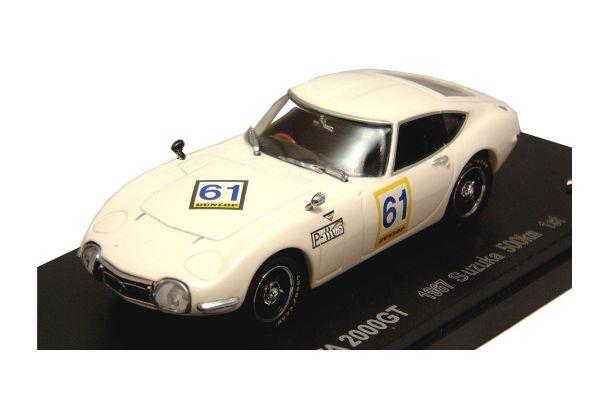 KYOSHO 1/43scale TOYOTA 2000 GT  RACING  1967  SUZUKA  500Km  Win No.61 [No.K03032B]