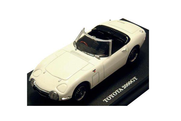 KYOSHO 1/43scale TOYOTA 2000GT OPEN CAR White [No.K03033W]