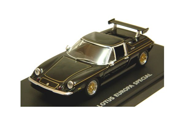 KYOSHO 1/43scale LOTUS EUROPE SPECIAL with REAR WING Black [No.K03076BK]
