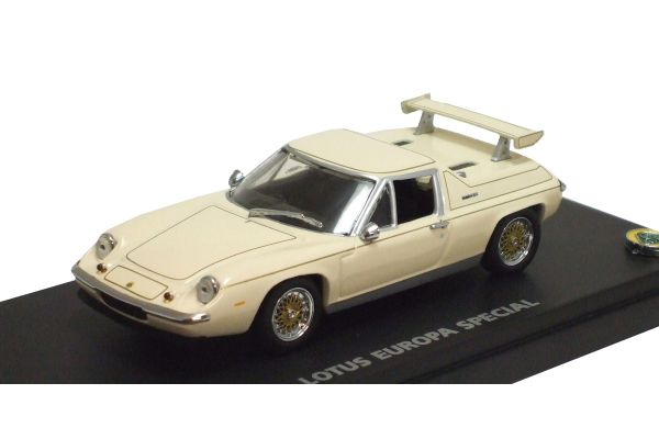 KYOSHO 1/43scale LOTUS EUROPE SPECIAL with REAR WING White [No.K03076W]