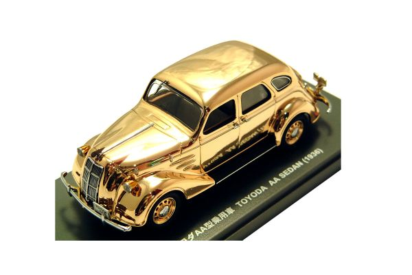 KYOSHO 1/43scale TOYODA AA SEDAN Gold Plating [No.K03084L]
