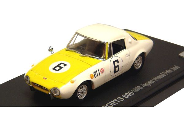 KYOSHO 1/43scale TOYOTA  SPORTS  800  RACING  1966 JAPAN  GP  2nd No.6 [No.K03092D]