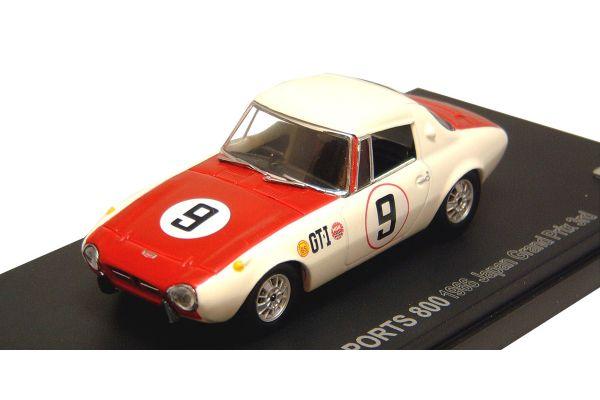 KYOSHO 1/43scale TOYOTA  SPORTS  800  RACING  1966 JAPAN  GP  3nd No.9 [No.K03092F]