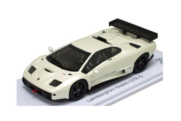 KYOSHO 1/43scale Lamborghini Diablo GTR-S (KYOSHO 20thAnniv Model) Pearl White [No.K03215PW]