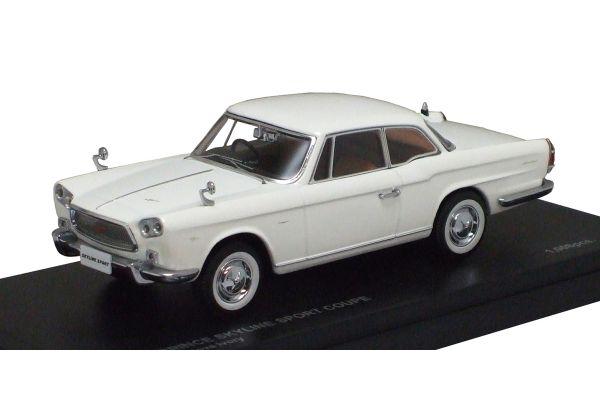 KYOSHO 1/43scale Prince Skyline Coupe White [No.K03231W]
