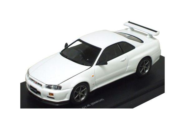 KYOSHO 1/43scale Nissan Skyline GT-R (BNR34) V-SPEC N1 Base Model  [No.K03388N1]