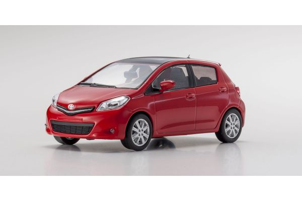 KYOSHO 1/43scale Toyota Yaris Red [No.K03630R]