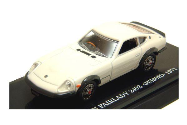 KYOSHO 1/64scale NISSAN FAIRLADY 240ZG White [No.K06002W]