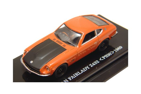 KYOSHO 1/64scale NISSAN FAIRLADY Z 432 Orange [No.K06003P]