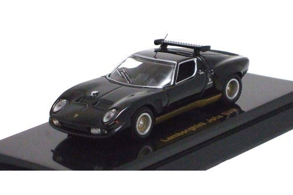 KYOSHO 1/64scale Lamborghini Jota SVR Black [No.K06401BK]