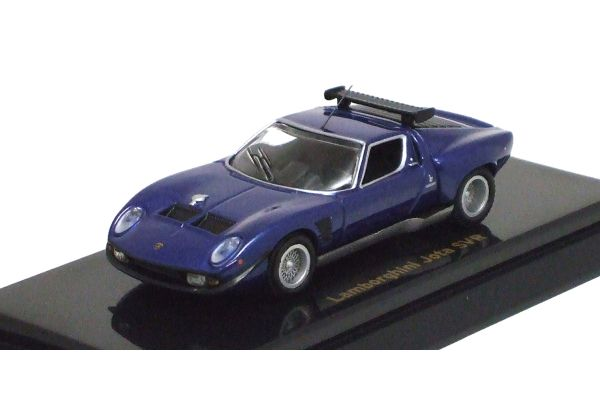 KYOSHO 1/64scale Lamborghini Jota SVR Blue Metallic [No.K06401BL]