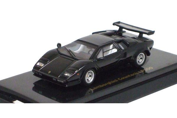 KYOSHO 1/64scale Lamborghini Countach LP500 Black [No.K06411BK]