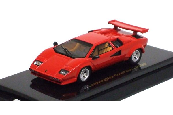 KYOSHO 1/64scale Lamborghini Countach LP500 Red [No.K06411R]
