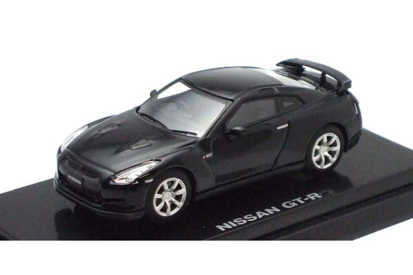 KYOSHO 1/64scale NISSAN GT-R Black [No.K06631BK]