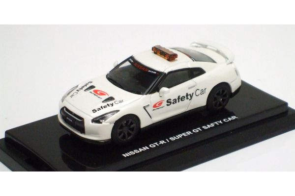 KYOSHO 1/64scale Nissan GT-R(R35) SuperGT PaceCar White [No.K06632SG]