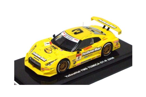 KYOSHO 1/64scale Yellow Hat YMS TOMICA GT-R 2008  [No.K06671A]