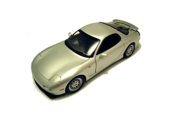 KYOSHO 1/18scale MAZDA RX-7 1995 (FD3S) Silver [No.K08002S]