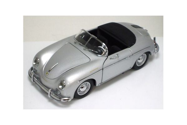 KYOSHO 1/18scale Porsche 356A Speedster 20th Anniversary Silver [No.K08014S]