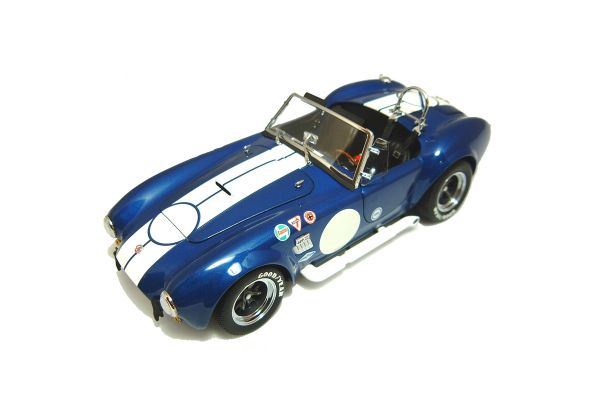 KYOSHO 1/18scale SHELBY COBRA 427 S/C RACING (UP GRADE) Blue/Whiteline [No.K08045BL]