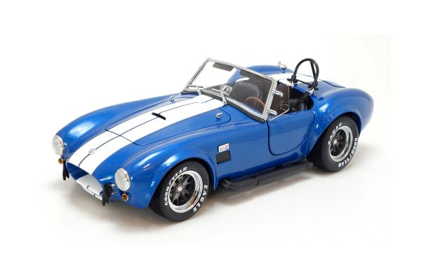 KYOSHO 1/18scale Shelby Cobra 427 S/C(tm) Blue/White [No.K08045BLA]