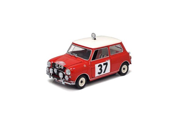 KYOSHO 1/18scale Mini Cooper S 1964 Monte CarloRally Winner (No.37)  [No.K08102A]