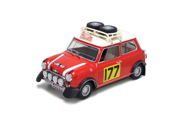 KYOSHO 1/18scale Mini Cooper S 1967 Monte No.177 Up Grade  [No.K08102RR]