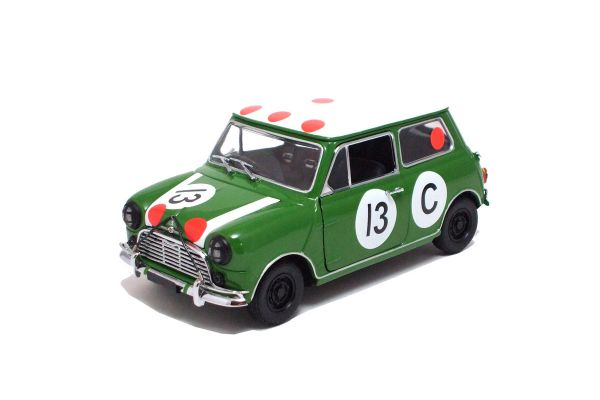 KYOSHO 1/18scale MORRIS MINI COOPER 1966 BATHURST WINNER Green / No.13 [No.K08103BT]