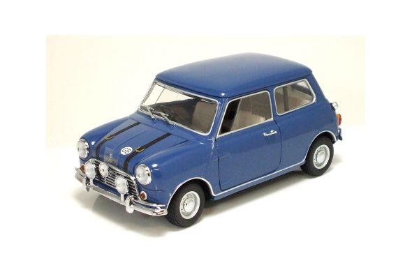 KYOSHO 1/18scale AUSTIN MINI COOPER S 1969 Blue [No.K08106BL]