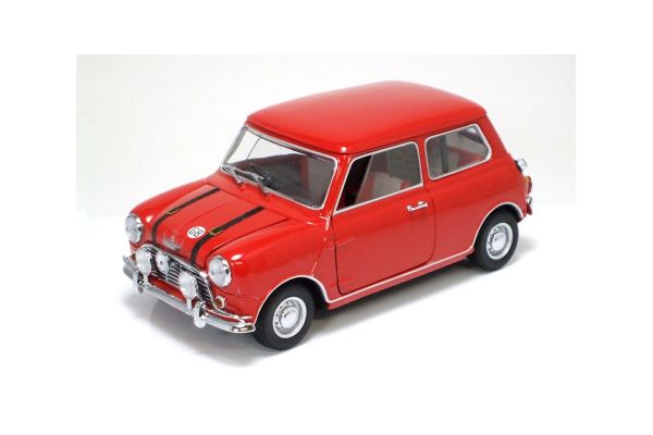 KYOSHO 1/18scale AUSTIN MINI COOPER S 1969 Red [No.K08106R]