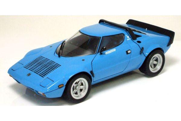 KYOSHO 1/18scale Lancia Stratos HF Wide Wheel Blue [No.K08137BL]