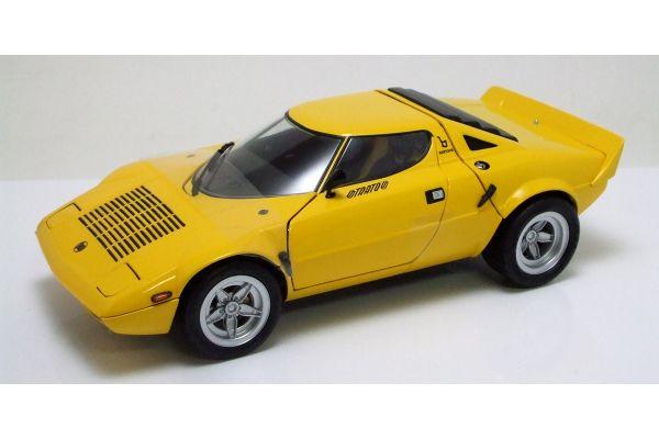 KYOSHO 1/18scale Lancia Stratos  HF Wide-Wheel Yellow [No.K08137Y]