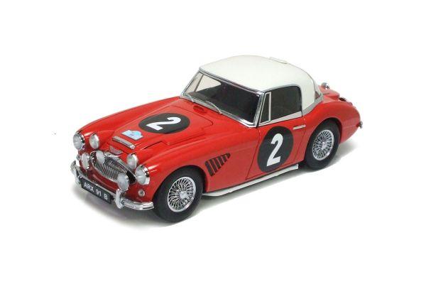 KYOSHO 1/18scale Austin Healey 3000 1964 Austrian Alpine Rally Red [No.K08146A]