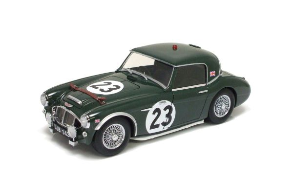 KYOSHO 1/18scale Austin Healey 3000 1960 LM Green [No.K08147A]