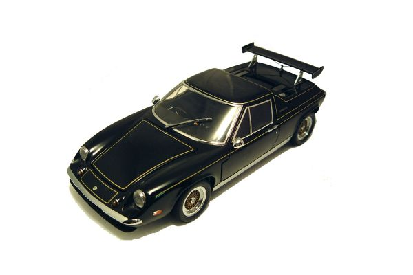 KYOSHO 1/18scale LOTUS EUROPE SPECIAL with REAR WING Black [No.K08153BK]