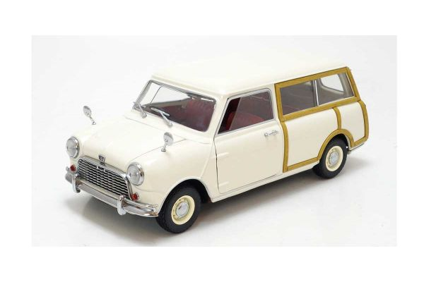 KYOSHO 1/18scale Austin Mini Countryman White [No.K08194W]